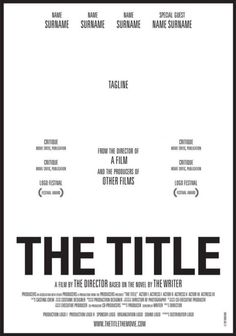 The title, movie poster Film Poster Design, Poster Layout, Poster S, Movie Poster Font, Nancy Kerrigan, Movie Poster Template, Flyer Template, Poster Templates, Layout Template