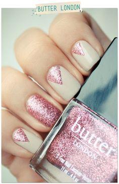 Butter London – Rosie Lee / Paye ta paillette rose