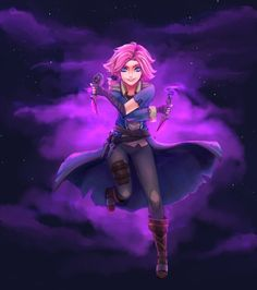 Maeve, of Blades [+Speedpaint] by LunarHeretic
