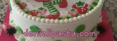 Çilek Kız Konseptli Pasta                                Concept Strawberry Cake