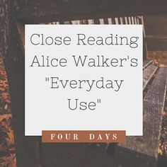 """Short Stories Bundle includes close reading lessons for: """"Everyday Use"""" by Alice Walker, """"American History"""" by Judith Ortiz Cofer, and Ursula LeGuin's """"SheUnnames Them."""" Created by the English Teacher's Critical Thinking Store. Famous Short Stories, Close Reading Lessons, Teaching Secondary, Alice Walker, Critical Thinking Skills, Teaching Strategies, How To Pose, Literacy Activities, Writing Prompts"""
