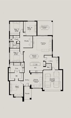 High Quality Simple 2 Story House Plans #3 Two Story House Floor ...