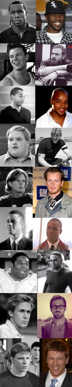 remember the titans, then and now. Um, what happened there, Gerry? Ryan gets more and more attractive the older he gets.