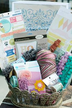 Heidi from Sew.Craft.Create. joins 25 other fab bloggers to pick her favorite items for her Gift Giving Guide -- and WE made the list! Best part is that she made a basket of all her faves so that YOU can win it! Deadline: November 12, 2012