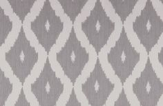 Here I used ikat, an Asian dyeing process, as inspiration. This colourway from the collection is in grey and white, the geometric print adds impact with the textured background giving a fabric effect. Paint Charts, Kelly Hoppen, Grey Wallpaper, Textured Background, Ikat, Grey And White, Bedroom Furniture, Print Patterns, Master Bedroom