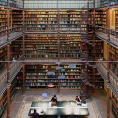 Modern Interiors Design : Amsterdam Rijksmuseum Research Library the largest public art history research