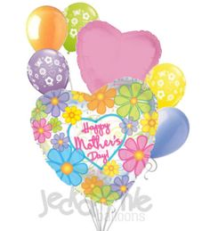Bright Daisies Happy Mother's Day Balloon Bouquet