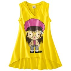 Harajuku Mini for Target® Girls Sleeveless Top -  Yellow