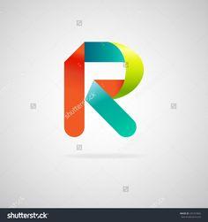 ribbon logo Web Design, Logo Design, Graphic Design, Ribbon Logo, R Colors, Branding Ideas, Logos, Business Logo, Fields