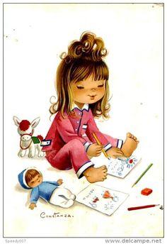 illustration enfant - Delcampe.fr