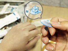 Cold Compress Band-Aid a handy cold compress for hemostasis. #medical #bandaid #YankoDesign