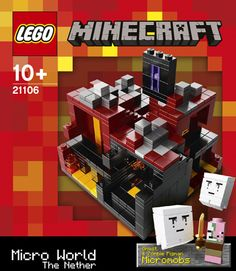 #Lego official Minecraft. The Nether
