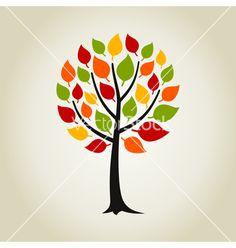Tree wood vector by aleksander1 on VectorStock®