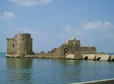 The Last Remains of the Templar Towers and Castle at Acre, Israel