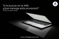 ¿Qué mensaje estás enviando en la web?
