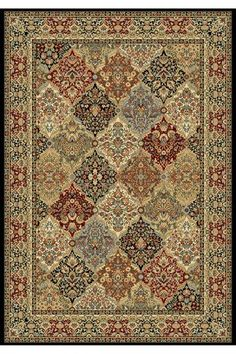 Thompson Area Rug - Synthetic Rugs - Machine-made Rugs - Traditional Rugs - Border Rugs | HomeDecorators.com