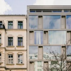 Zanderroth Architekten designs cb19 apartments without internal walls to create flexible layouts