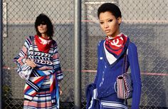 Mica Arganaraz and Lineisy Montero star for the Chanel Spring/Summer 2016