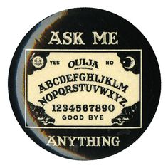 Ouija Ask Me Anything Pin | Hot Topic (€1,78) ❤ liked on Polyvore featuring jewelry, brooches, buttons, accessories, pins, fillers, pin brooch, button jewelry and pin jewelry