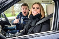 Adele. Carpool Karaoke with James Corden. Follow rickysturn/amazing-women