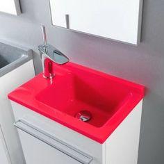 Διαλέγοντας νιπτήρα για το μπάνιο | Small Things Bathroom Sink Design, Modern Bathroom Sink, Bathroom Sinks, Decoration, Home Decor, Pottery, Hands, Red, Decor