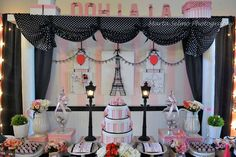 Paris Birthday Party Ideas | Photo 1 of 31 | Catch My Party