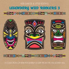 Keb Darge  Little Edith's Legendary Wild Rockers - Vol. 3-Keb Darge  Little Edith's Legendary Wild R
