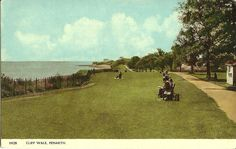 PENARTH CLIFF WALK PEOPLE SITTING ON BENCHES 1963 HARVEY BARTON POSTCARD | eBay People Sitting, Cardiff, South Wales, Welsh, Benches, Fathers, Walking, Country Roads, Times
