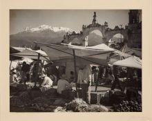 Photographs:20th Century, HUGO BREHME (German, 1882-1954). Matrata, Veracruz andAmecameca Ixtaccihuatl (Two Photographs), circa 1930.V