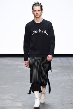 Nicomede Talavera Fall/Winter 2015 @ London Collections: Men.
