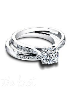 Jeff Cooper 3266 & 3266/B Engagement Ring and Jeff Cooper 3266 & 3266/B Wedding Ring
