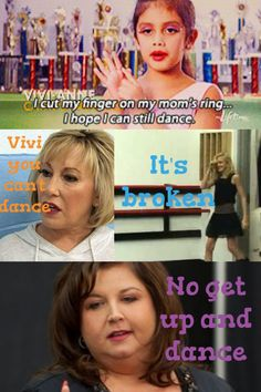 Dance Moms I remember that episode Vivi made me laugh so much!