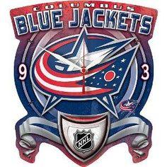 Columbus Blue Jackets CLOCK