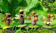 Herfst- Knutselen met natuurlijke materialen - Inspiratie - Education Joyeuse*- Les jouets naturels