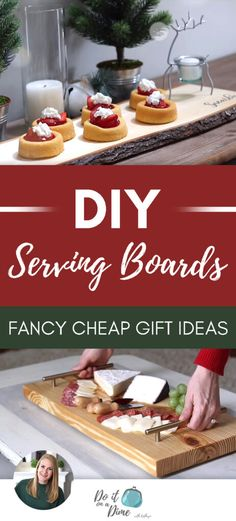 Today, we are making easy DIY serving platters, cheese platters, and charcuterie boards on a dime! Christmas Decor Diy Cheap, Christmas On A Budget, Diy Christmas, Cheese Platters, Serving Platters, Cool Diy, Easy Diy, Cheap Gifts, Diy Gifts
