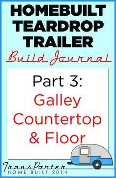 Part of a series of posts documenting our #homebuilt #teardroptrailer build. #TransPorter