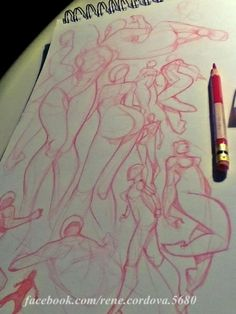 Girls sketches , available for comissions  :) by René Córdova, via Behance