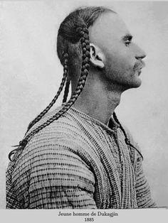 Man in braids