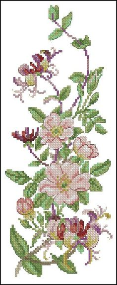This Pin was discovered by Mer Cross Stitch Rose, Cross Stitch Borders, Cross Stitch Flowers, Cross Stitch Designs, Cross Stitching, Cross Stitch Embroidery, Cross Stitch Patterns, Needlepoint Designs, Needlepoint Stitches