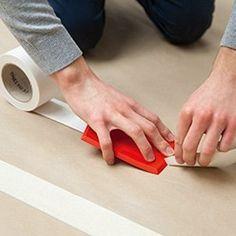 découper la bande à joint Plastic Cutting Board, Diy And Crafts, Construction, Building