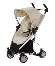 Quinny Natural Mavis Zapp Xra Stroller & Folding Seat