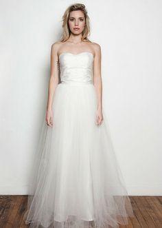 & For Love Veronique Tulle Skirt Wedding Dress
