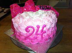 24th cake