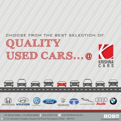 Choose From The Best Selection Of Quality Used Cars.... +Krishna Cars   #Car #CarDealer #UsedCarDealer #PreOwnedCar #KrishnaCars