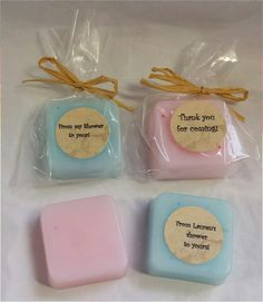 Baby shower or gift favors-baby powder scent!