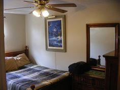 One of the 5 bedrooms