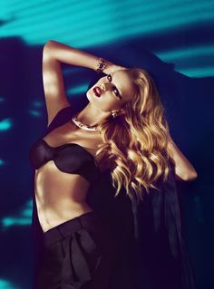 """Anne Vyalitsyna in """"Veinte Diosas"""" Photographed By Txema Yeste For Harper's Bazaar Spain, March 2011"""