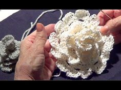 Crochet Flower Tutorial with Single and Double Crochet.