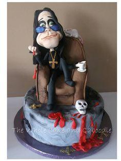 Ozzy Osbourne Cake
