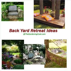 Relax in style in one of these DIY backyard retreat ideas - http://thegardeningcook.com/backyard-retreat-ideas/